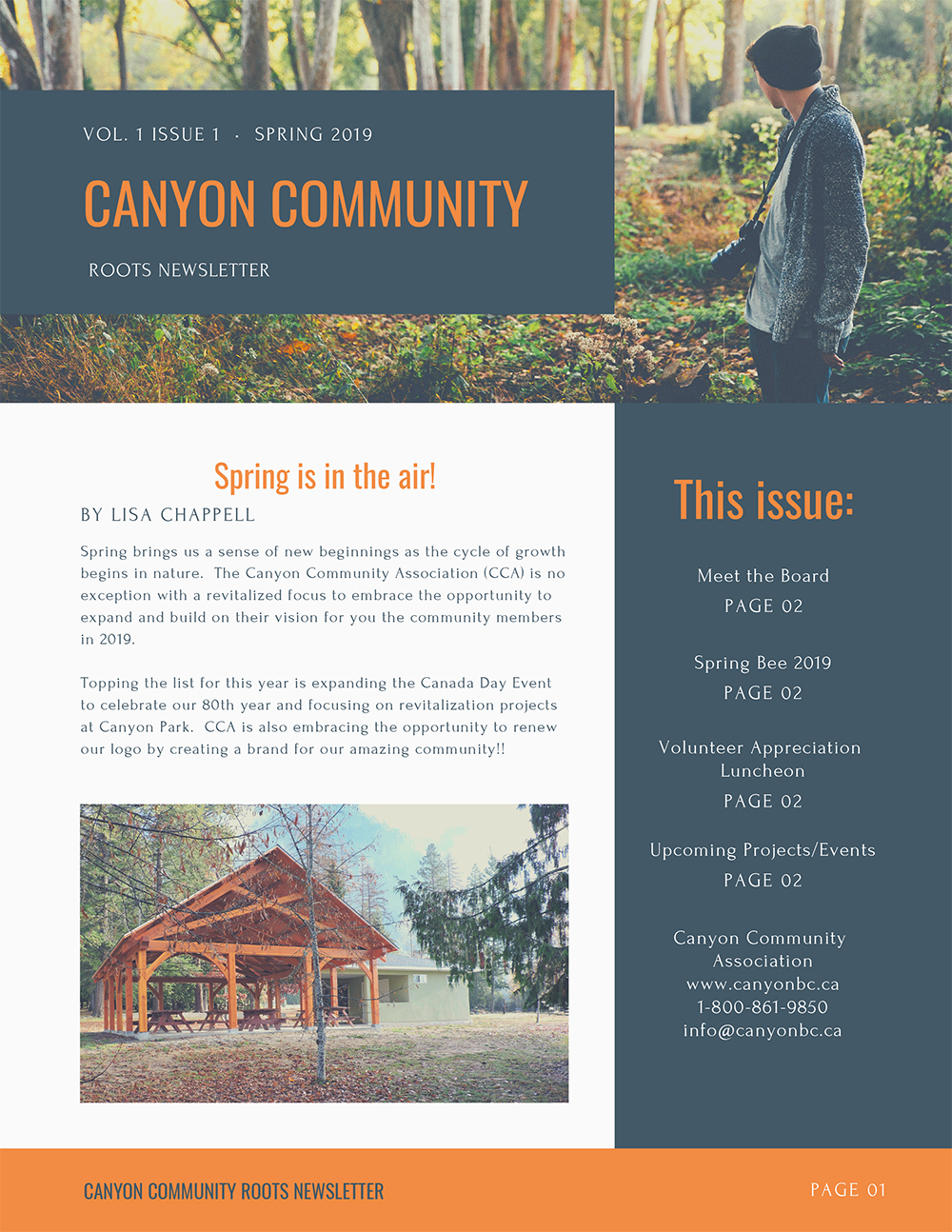Canyon Community Newsletter January 2019