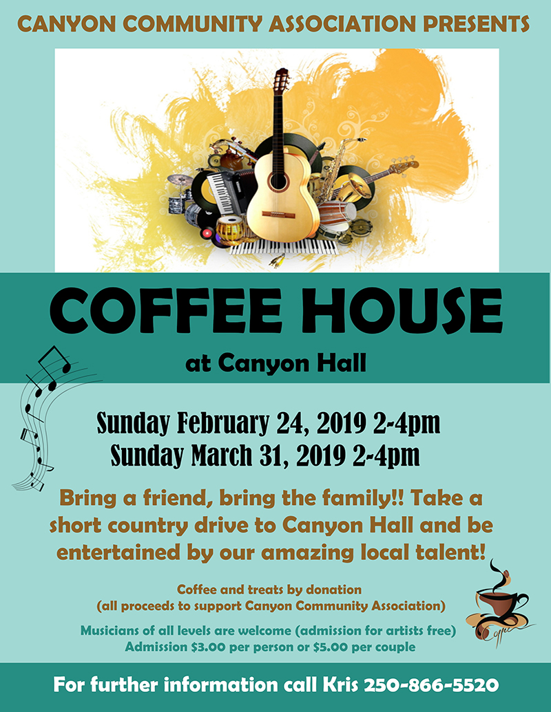 Canyon Coffee House Poster